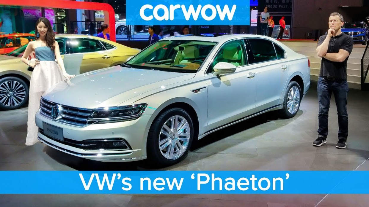 £10,10 Volkswagen 'Phaeton' and the other cool cars the Chinese get we  DON'T!
