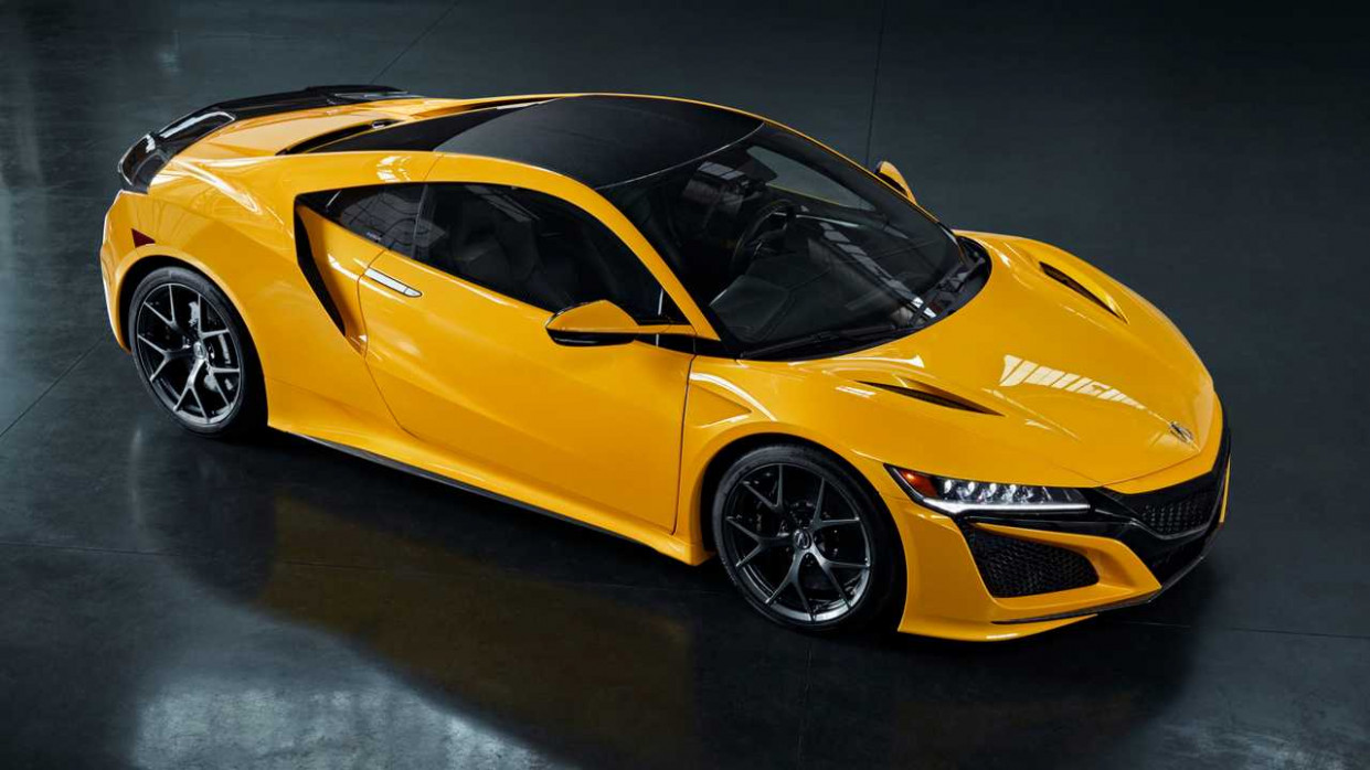 10 Acura NSX Indy Yellow Pearl Pays Homage To NSX Spa Yellow - 2020 acura nsx horsepower