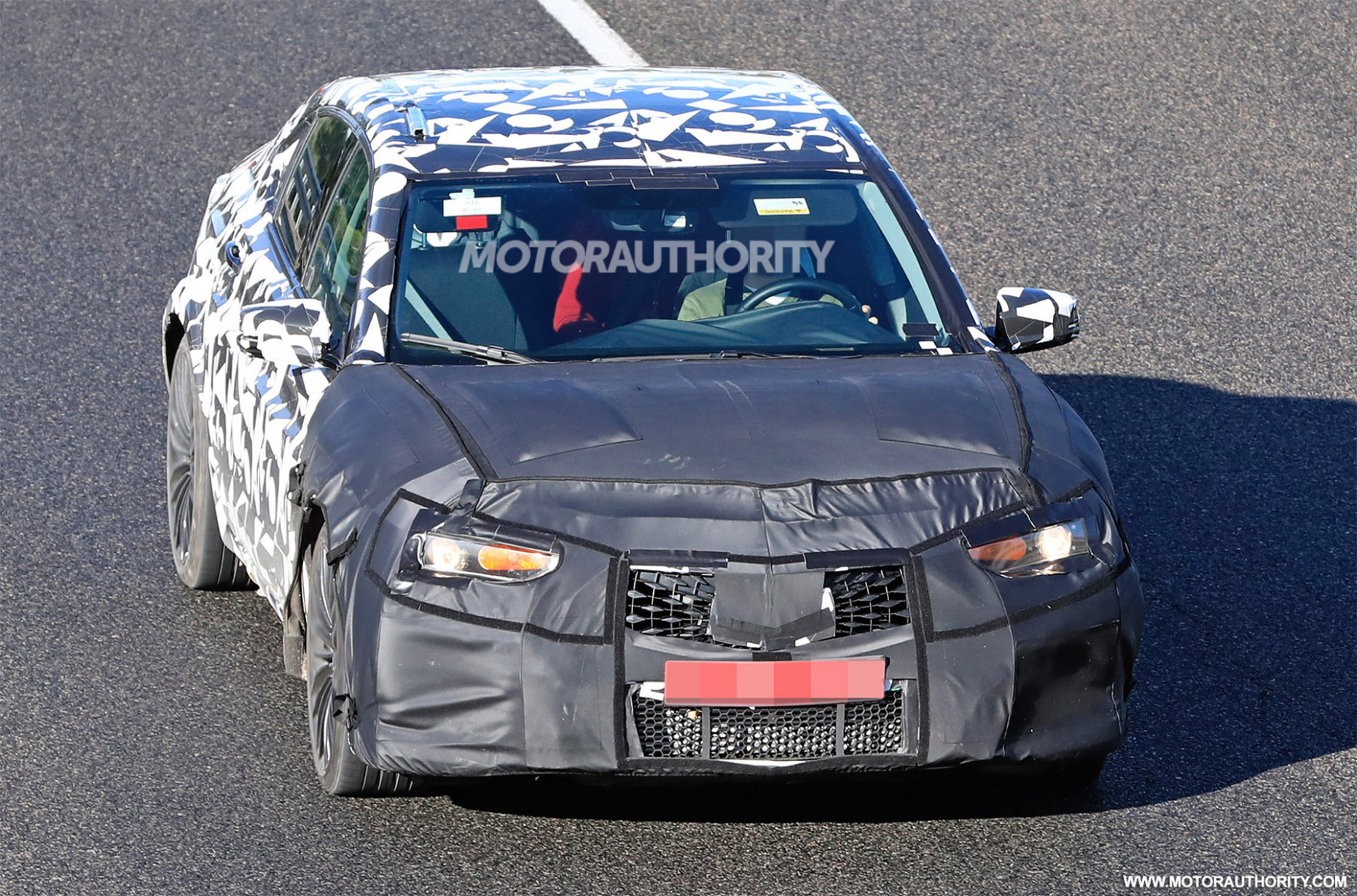 10 Acura TLX Type S spy shots