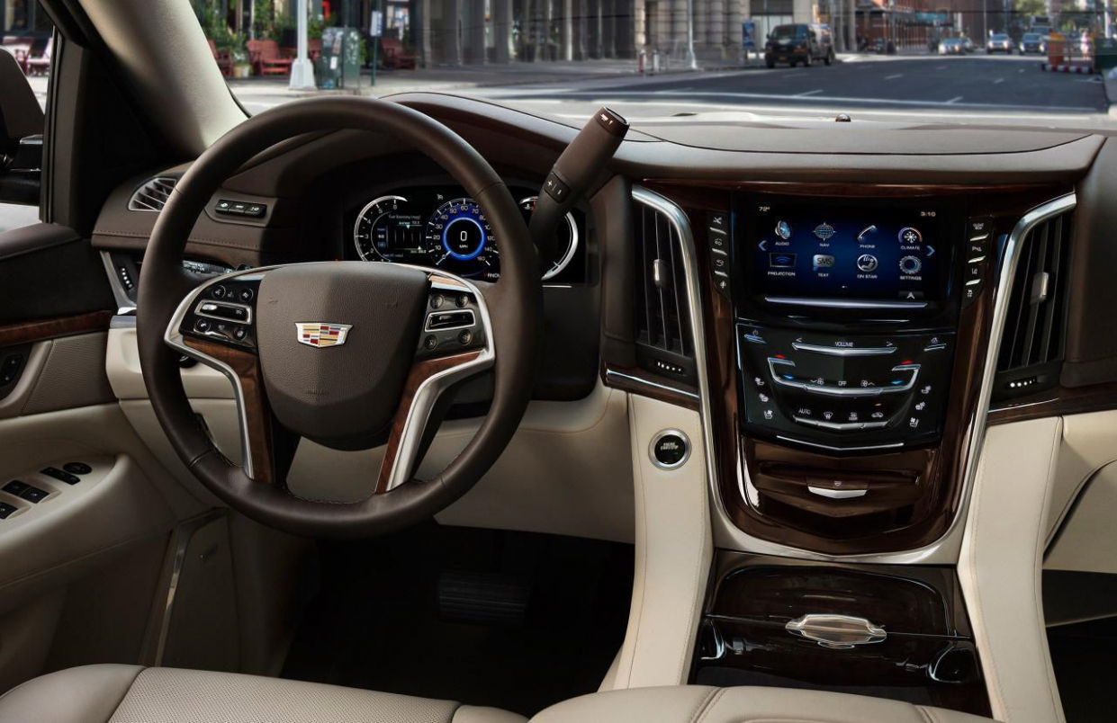 10 Cadillac Escalade Interior Review - Seating, Infotainment ...