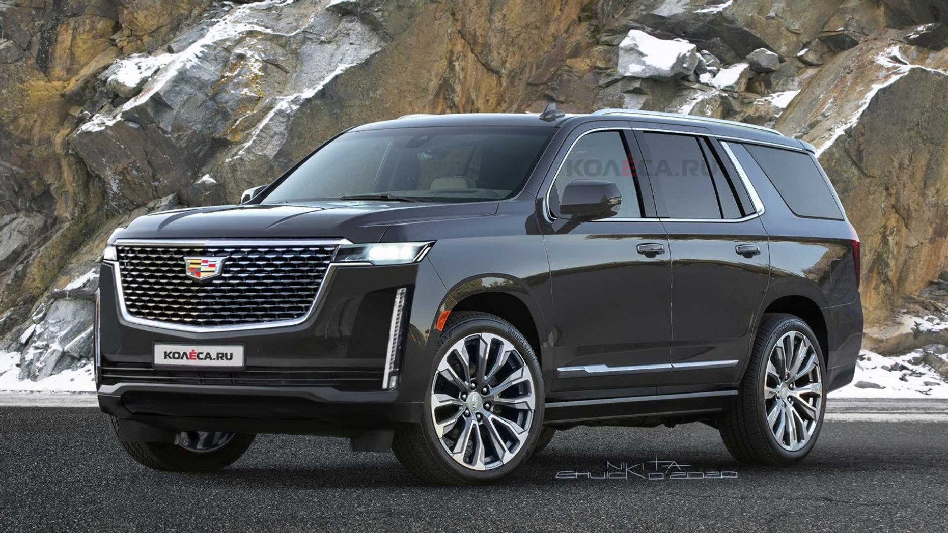 10 Cadillac Escalade Rendered Based On Teasers - 2020 cadillac jeep