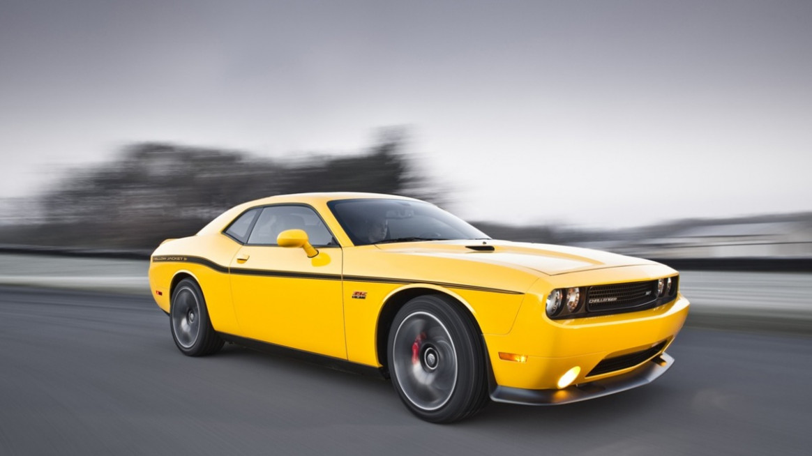 """10 Dodge Challenger """"Yellow Jacket"""" Leaked Ahead Of L.A"""