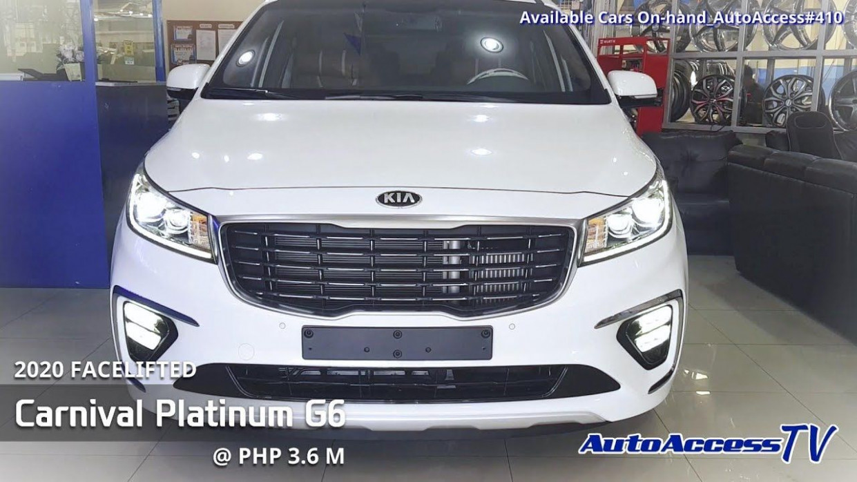 10 Facelifted Kia Carnival Platinum G10 @ ₱ 10.10 M Now available ..