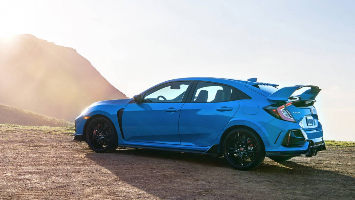 10 Honda Civic Type R gets a new color and datalogging app ..