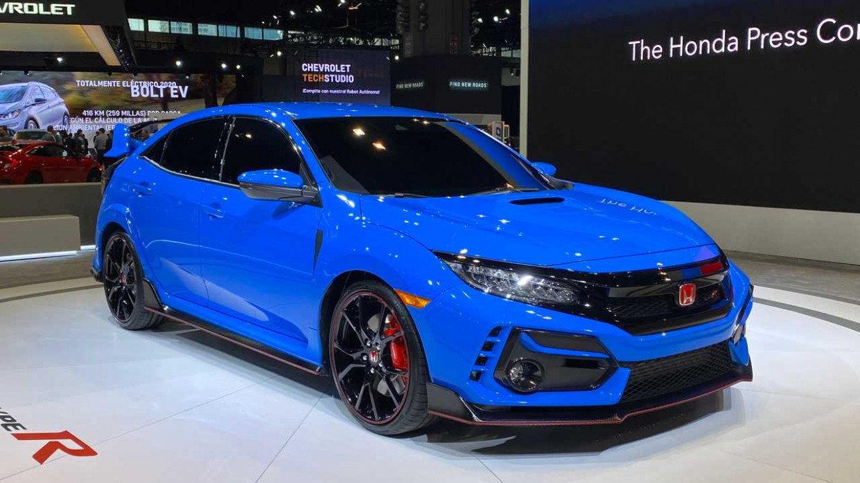 10 Honda Civic Type R Looks Blue For Its Chicago Debut - 2020 honda civic