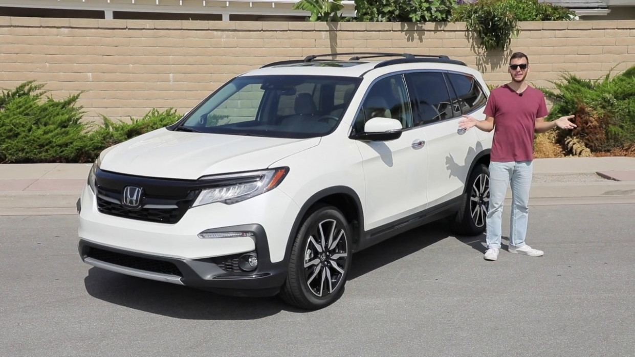10 Honda Pilot Elite AWD Test Drive Video Review
