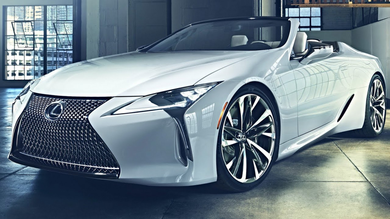 10 Lexus LC Convertible Concept – Lexus LC 10 (FIRST LOOK)