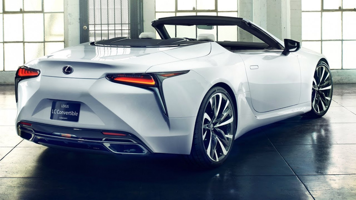 10 Lexus LC Convertible - interior Exterior (FIRST LOOK)