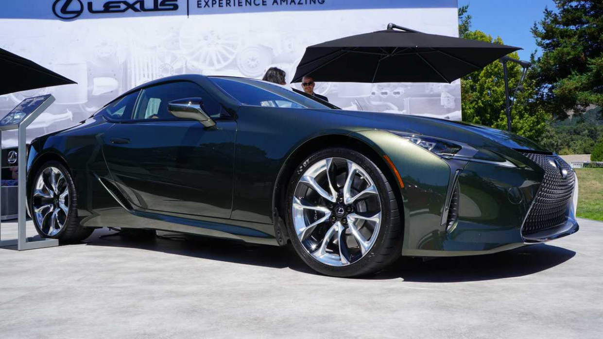 10 Lexus LC Inspiration Series Has Us Green With Envy [UPDATE]
