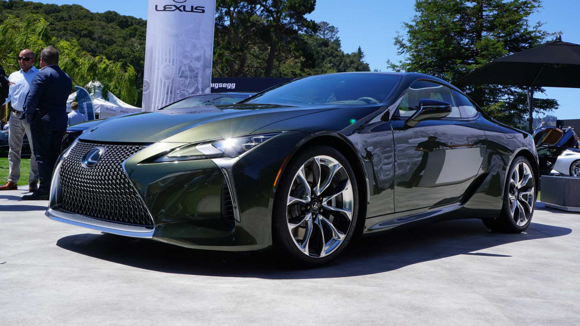 10 Lexus LC Inspiration Series Has Us Green With Envy [UPDATE] - 2020 lexus lc price