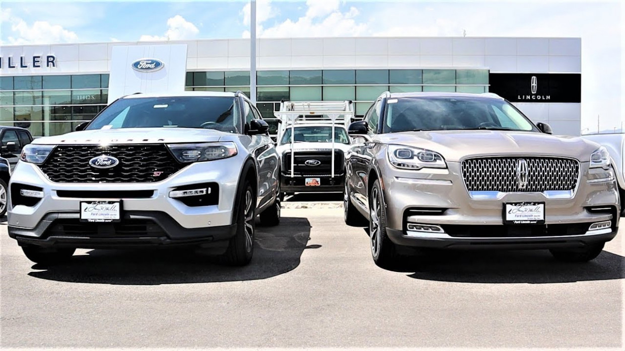 10 Lincoln Aviator Vs 10 Ford Explorer: Are they the Same SUV???