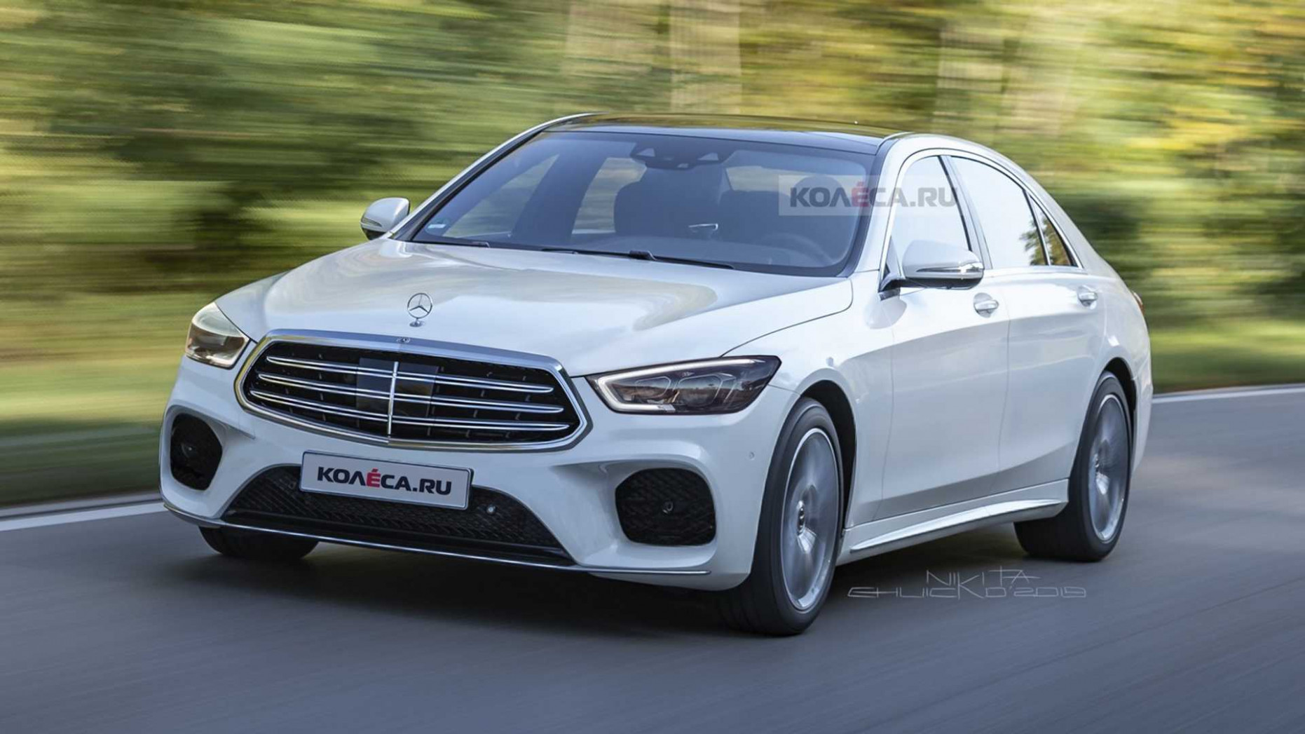 10 Mercedes S-Class Render Is Evolutionary Design Done Right