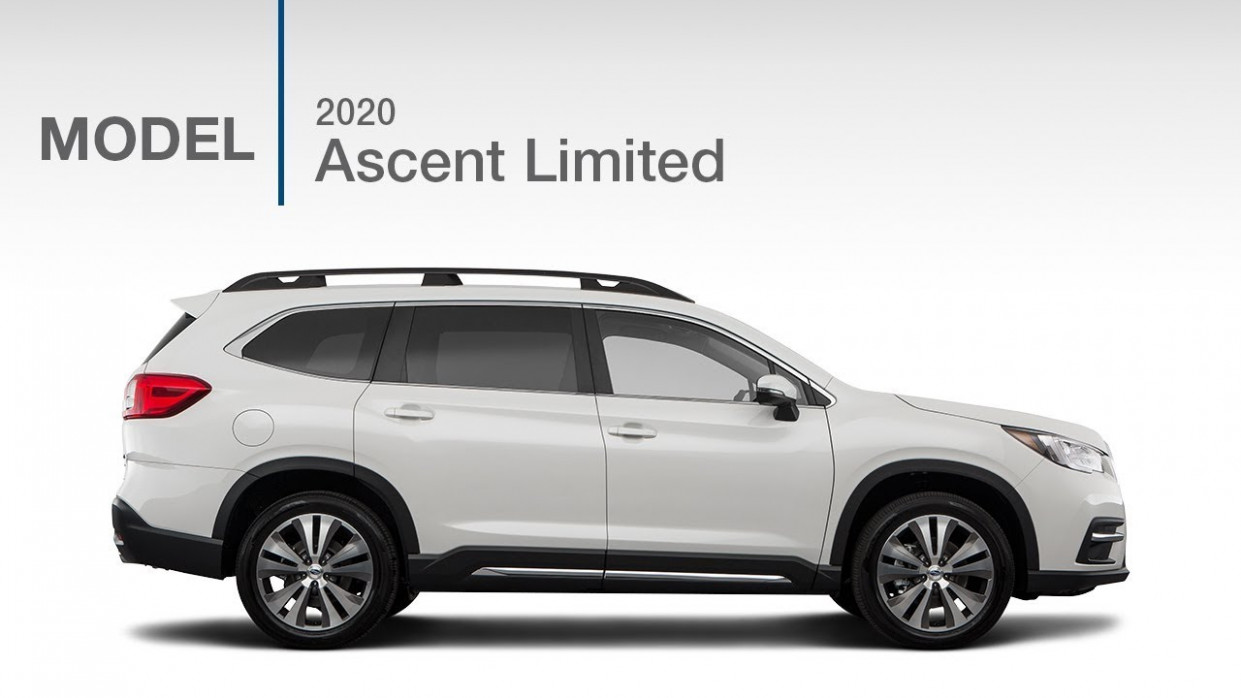 10 Subaru Ascent Limited SUV | Model Review