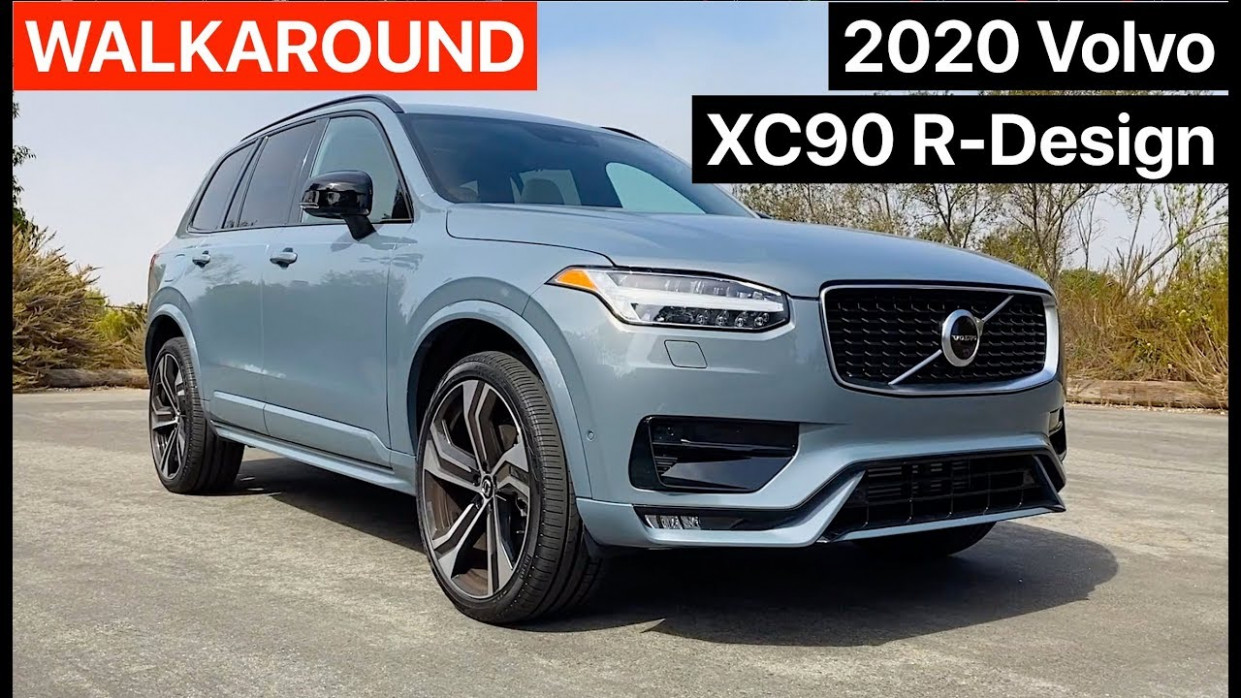 10 Volvo XC10 R-Design Walkaround (No Talking) - volvo youtube 2020