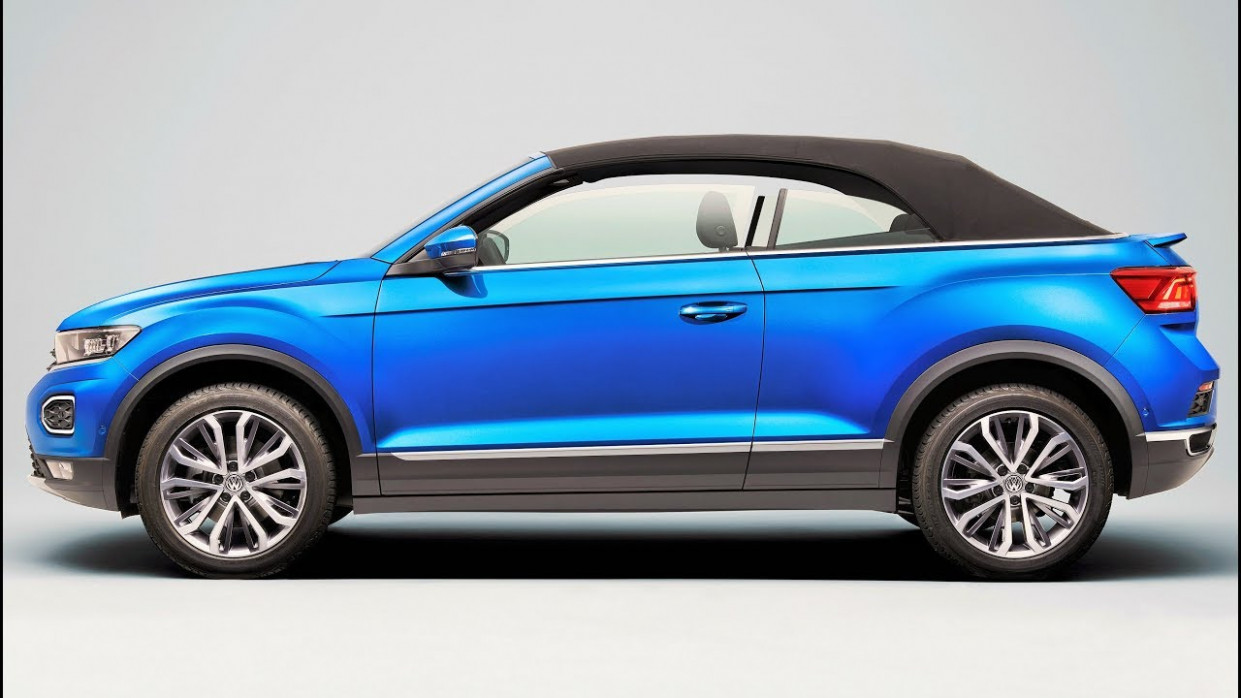 10 VW T-Roc Cabriolet - Convertible With SUV Genes