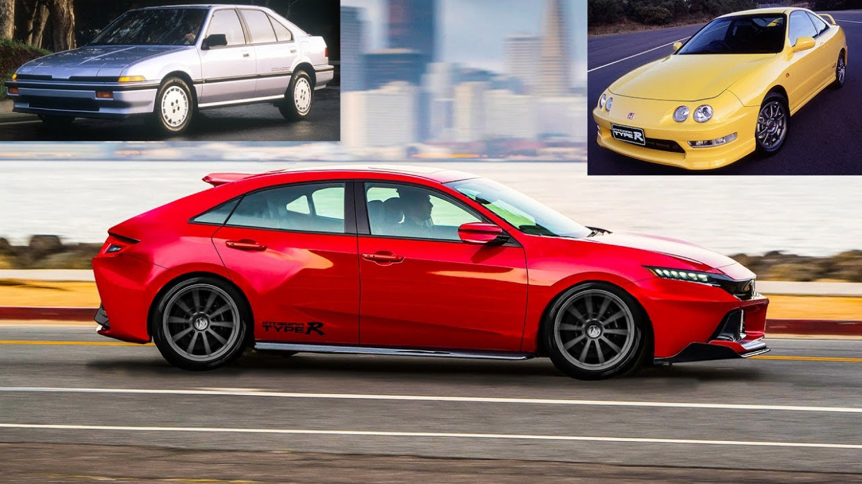 11 Acura Integra Type-R Concept - Similar to Honda Civic Type-R USA  release & specs