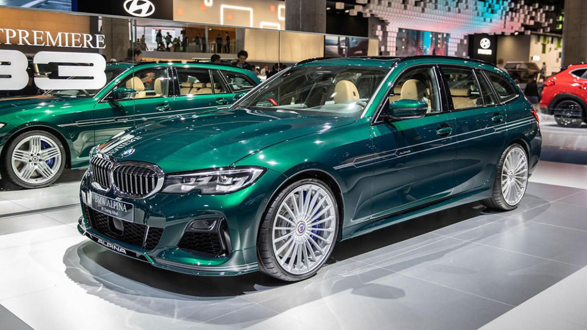 11 Alpina B11 Touring is a fast BMW wagon that's not for US ...