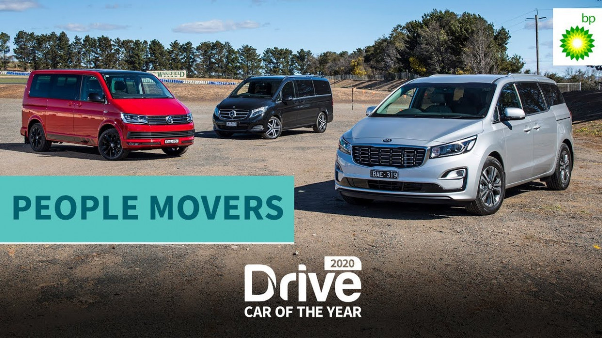 11 Best People Mover: Kia Carnival, Mercedes V-Class, VW Multivan | 11  Drive Car of the Year