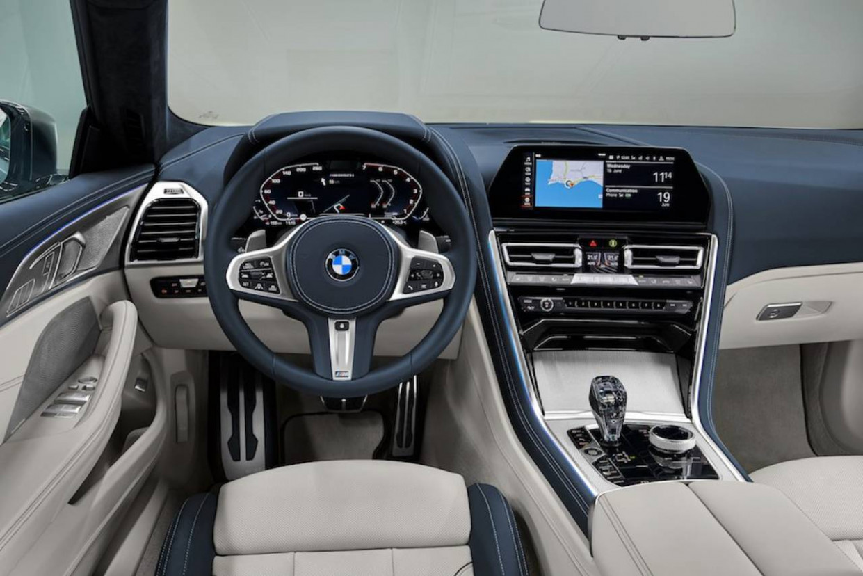 11 BMW 11 Series Gran Coupe's More Practical Interior Exposed ...