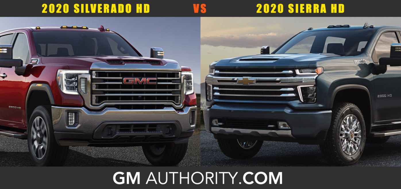 11 Chevrolet Silverado HD vs 11 GMC Sierra HD: Poll | GM Authority - 2020 gmc vs chevy