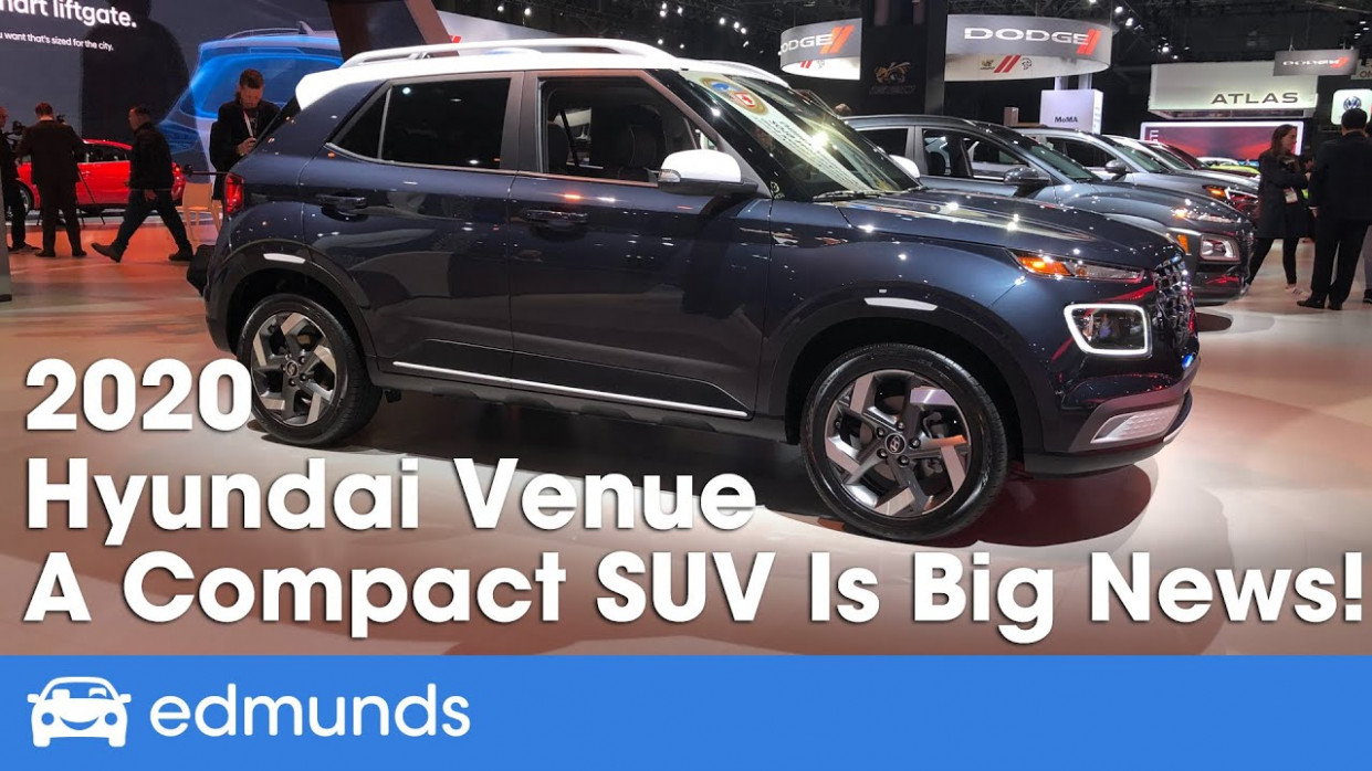 11 Hyundai Venue First Look | New York Auto Show