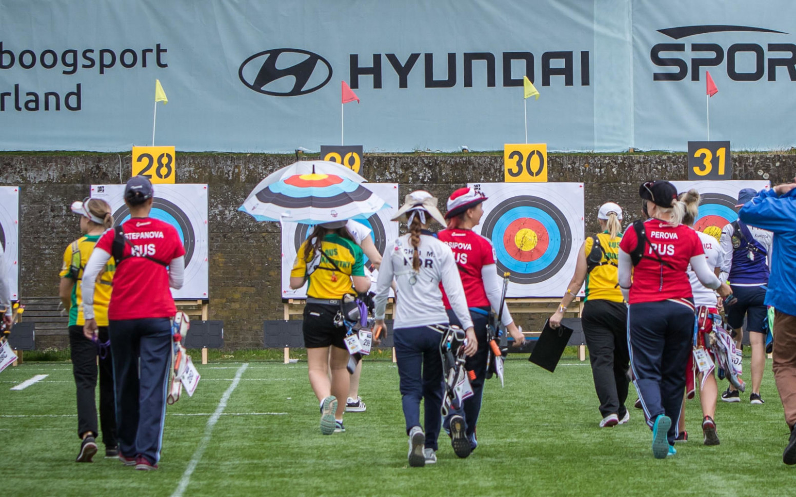 11 Hyundai World Archery Championships in The Netherlands ..