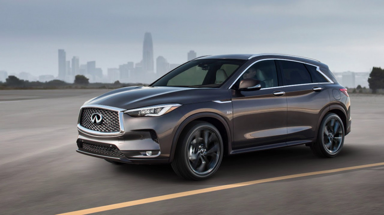 11 INFINITI QX11 - Intelligent Cruise Control (ICC) (without ProPILOT  Assist) (if so equipped)