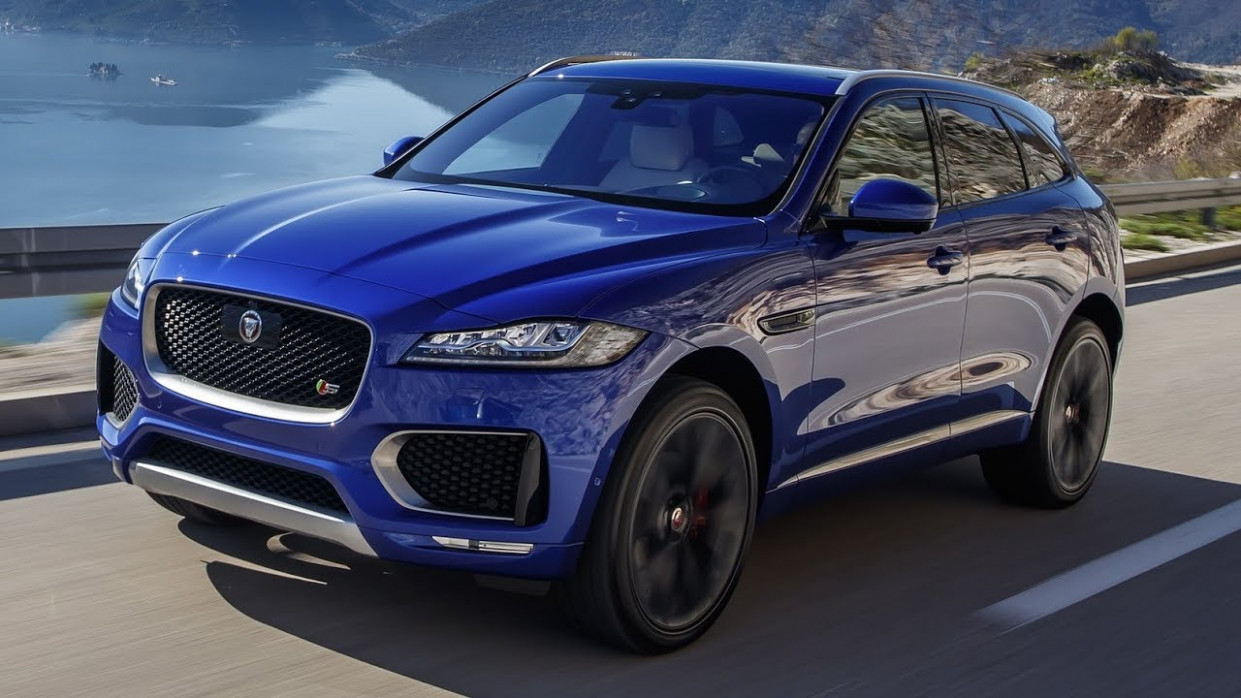 11 Jaguar F-Pace - Interior Exterior and Drive - jaguar jeep 2020