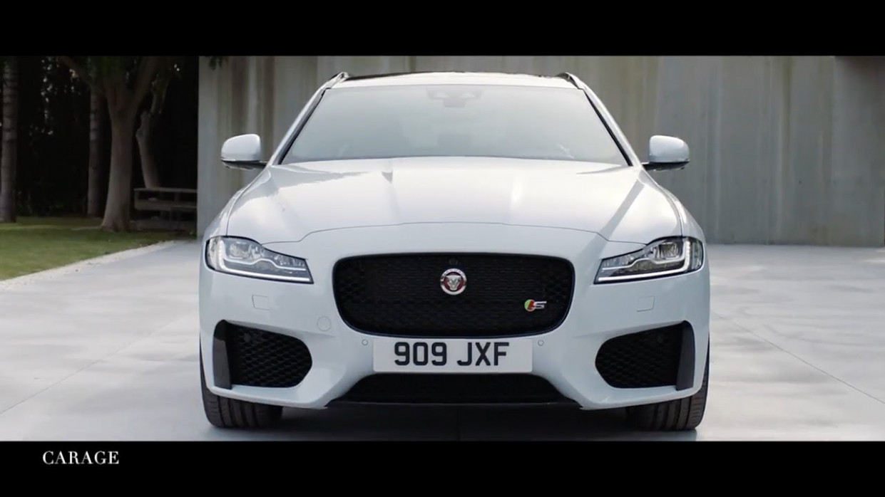 11 Jaguar XF Sportbrake Luxury Sedan !
