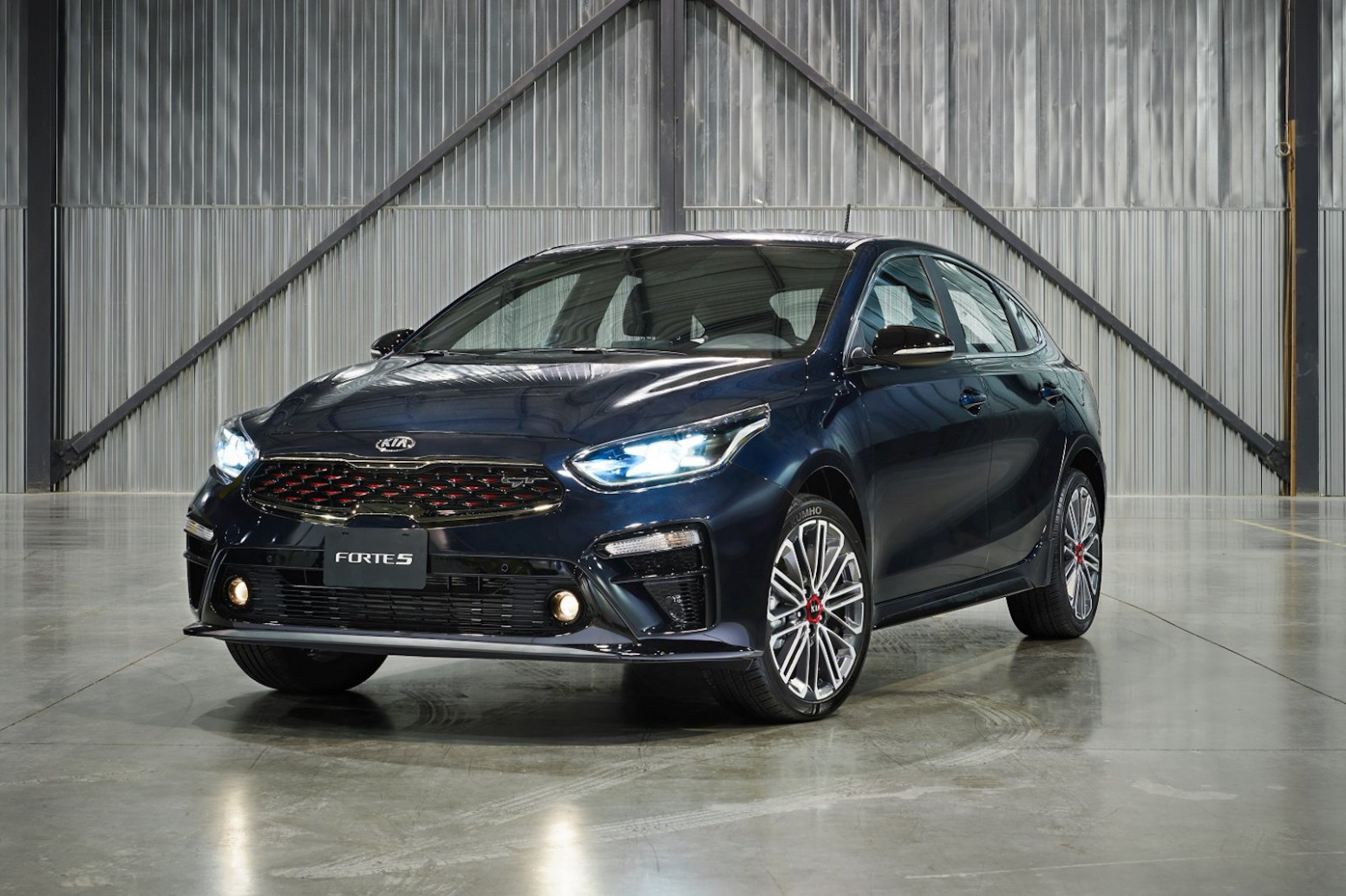 11 Kia Forte11 Debuts as a Handsome Hatchback » AutoGuide.com News