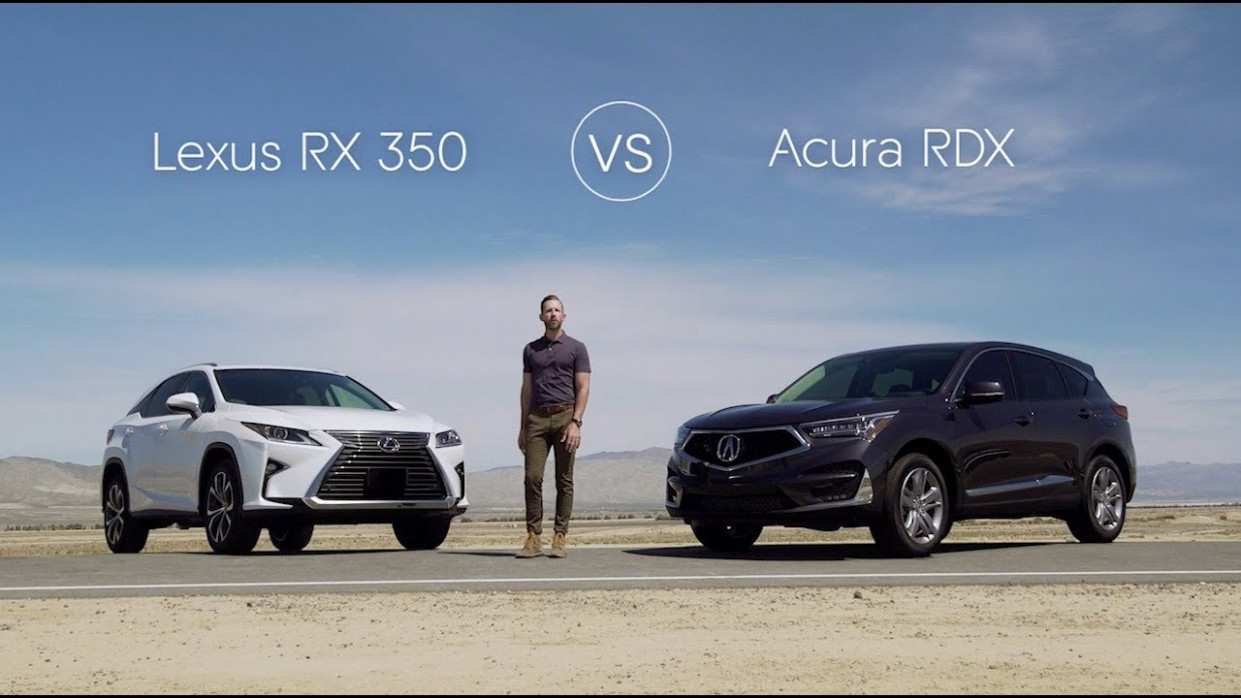 11 Lexus RX 11 vs 11 Acura RDX – Video Review Comparison