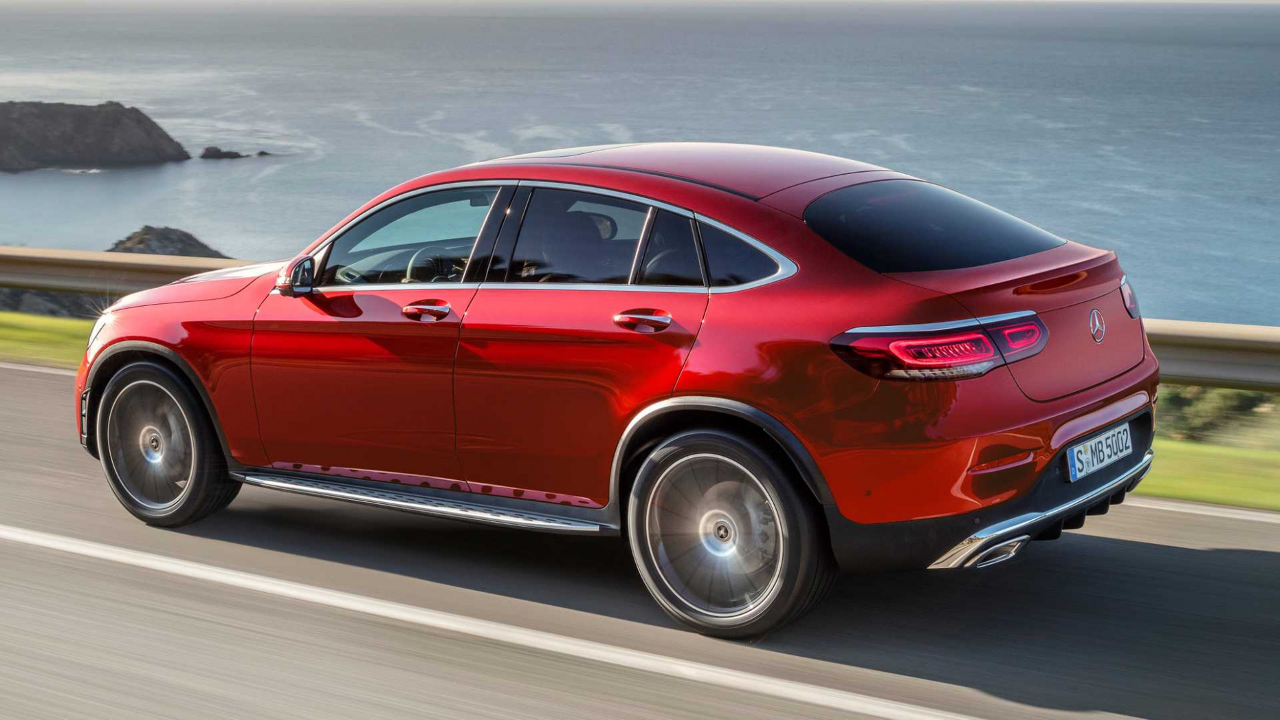 11 Mercedes-Benz GLC Coupe Gets Refreshed Face, More Power [UPDATE]