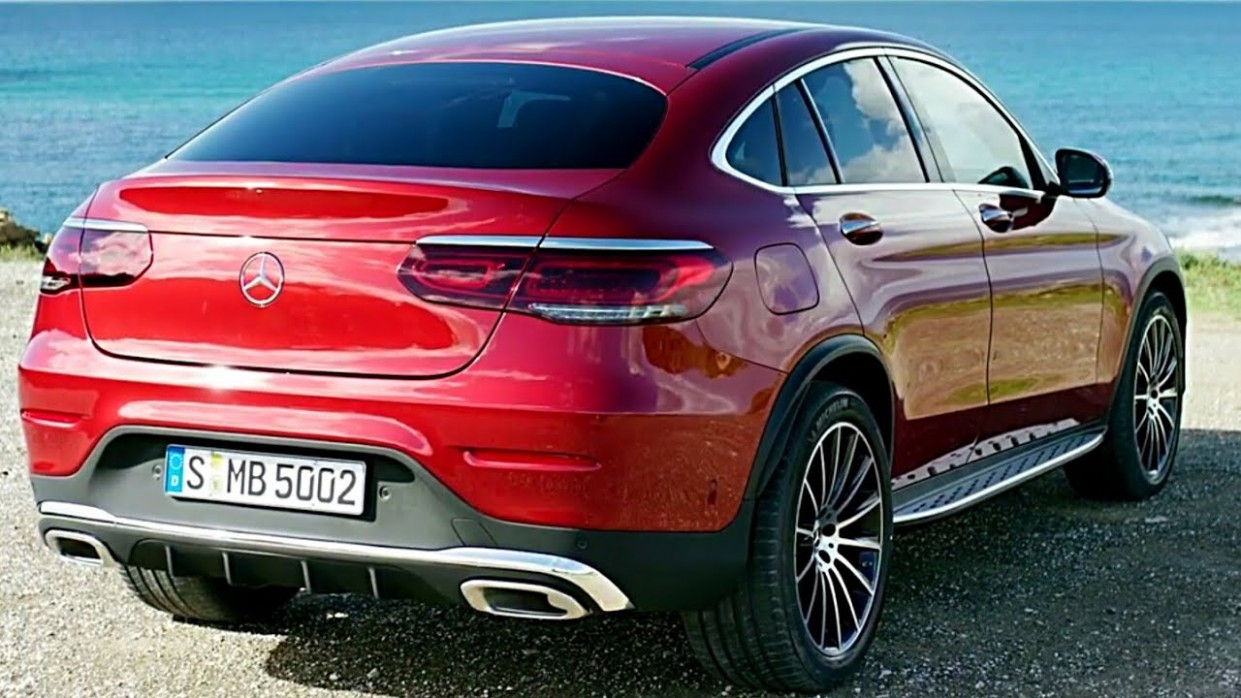 11 Mercedes GLC Coupe – (interior, exterior, and drive) / ALL-NEW  Mercedes GLC 11 Coupe