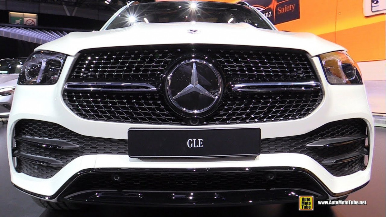 11 Mercedes GLE-Class GLE11 11Matic - Exterior, Interior Walkaround -  Debut Paris Motor Show 11 - mercedes gle 2020 indonesia