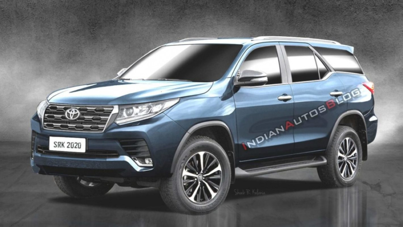 11 Toyota Fortuner Facelift Rendered Based On Spyshots