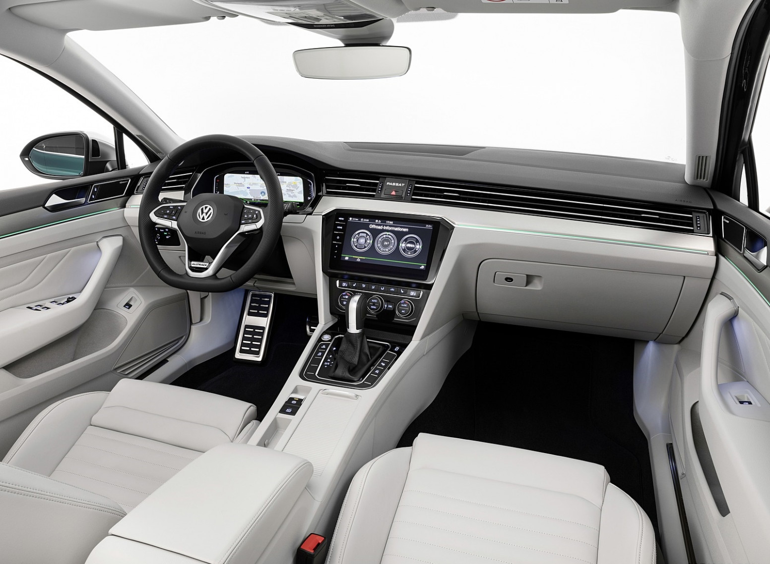 11 Volkswagen Passat Alltrack (EU-Spec) Interior Wallpapers (11 ..