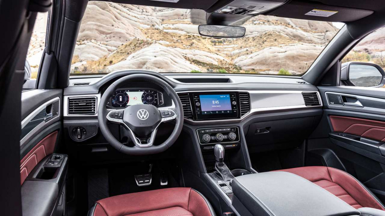 11 VW Atlas Cross Sport interior - 2020 volkswagen atlas r line