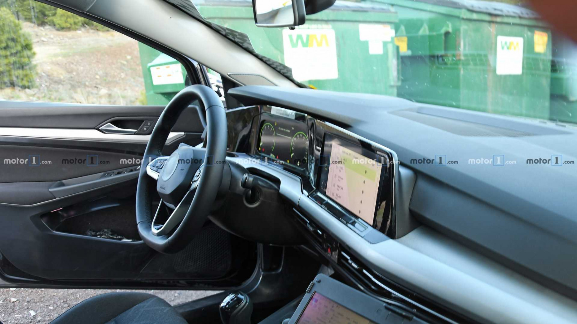 11 VW Golf Interior Spied For The First Time - 2020 volkswagen interior