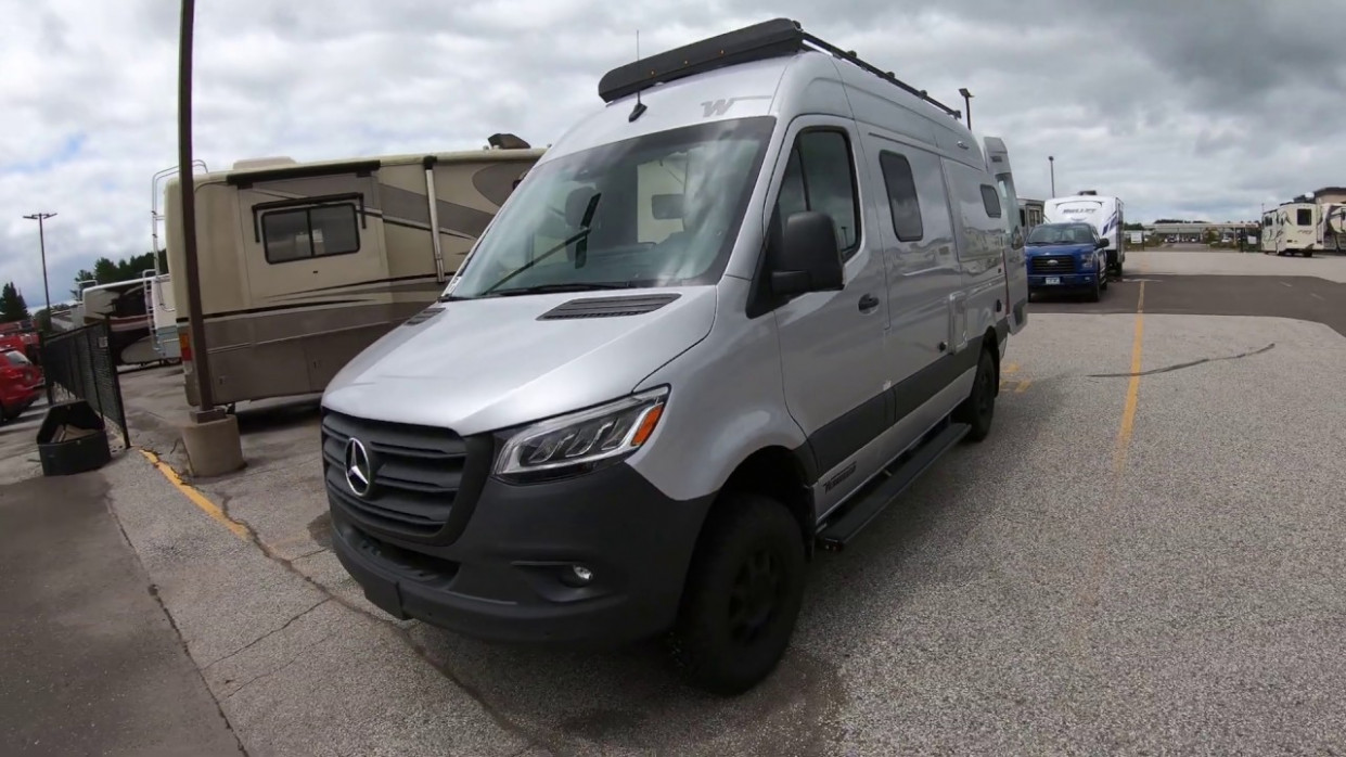 11 Winnebago Overland Revel 11x11 Motor Home with New Mercedes Benz Chassis!