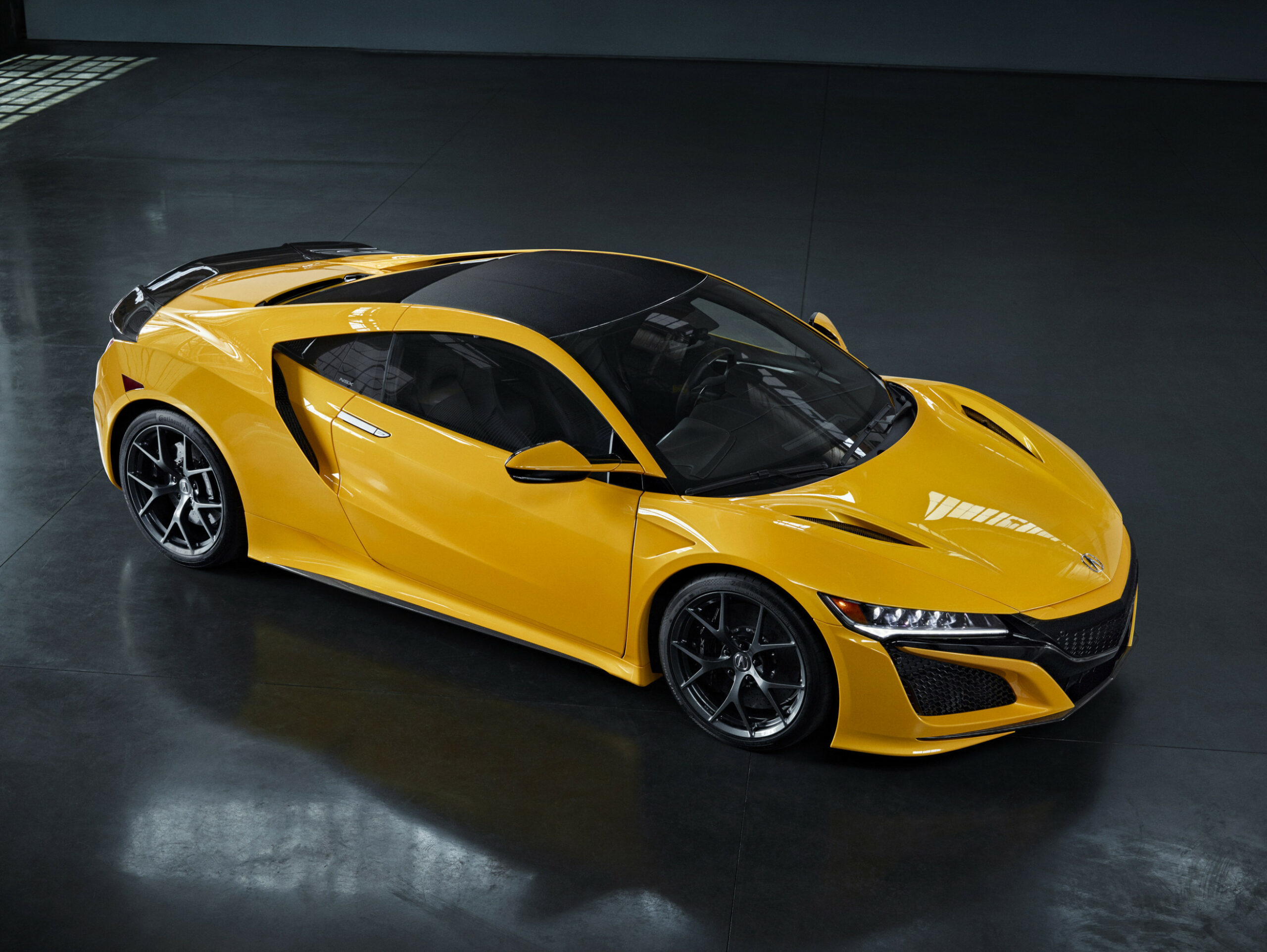 12 Acura NSX Debuts Heritage Color - Indy Yellow Pearl at ..