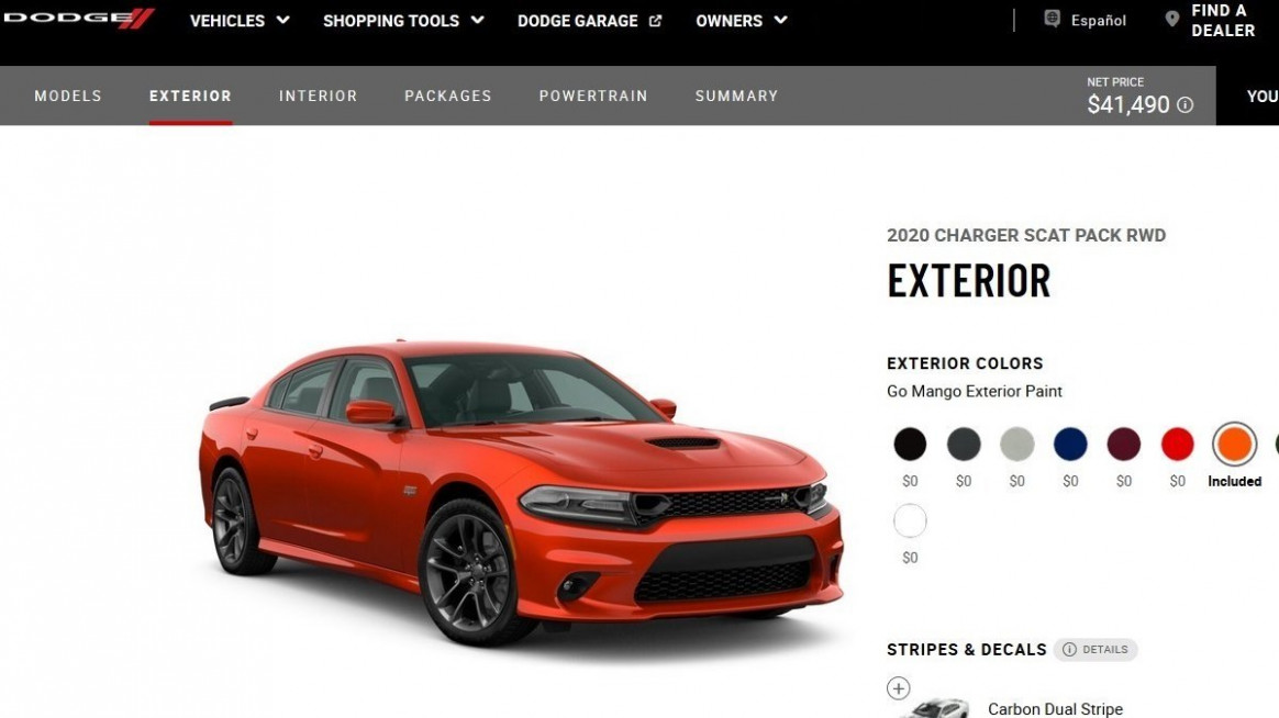 12 Dodge Charger: Building and Pricing the Scat Pack | Torque News
