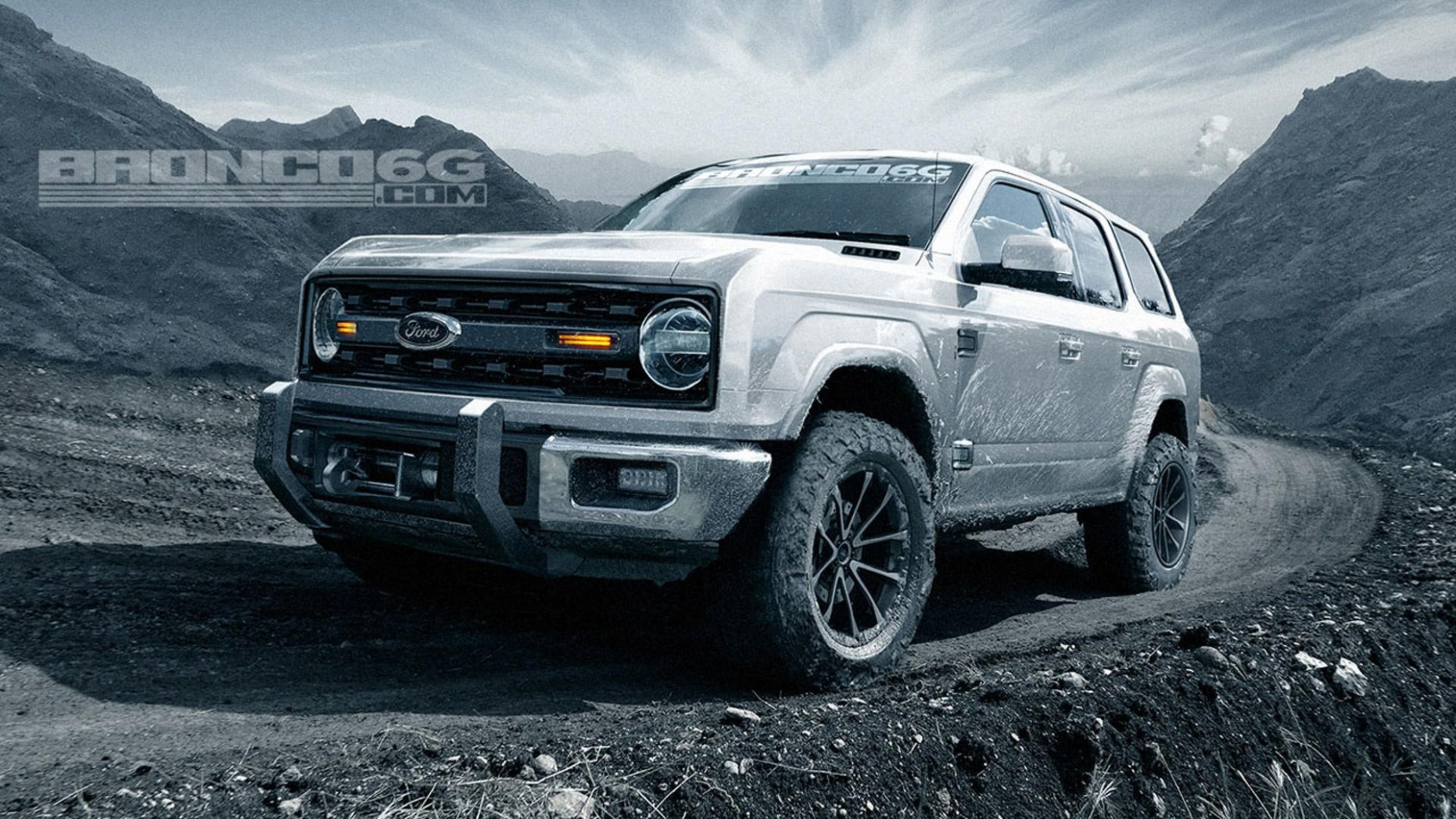12 Ford Bronco Will Have Four Doors And 12 HP