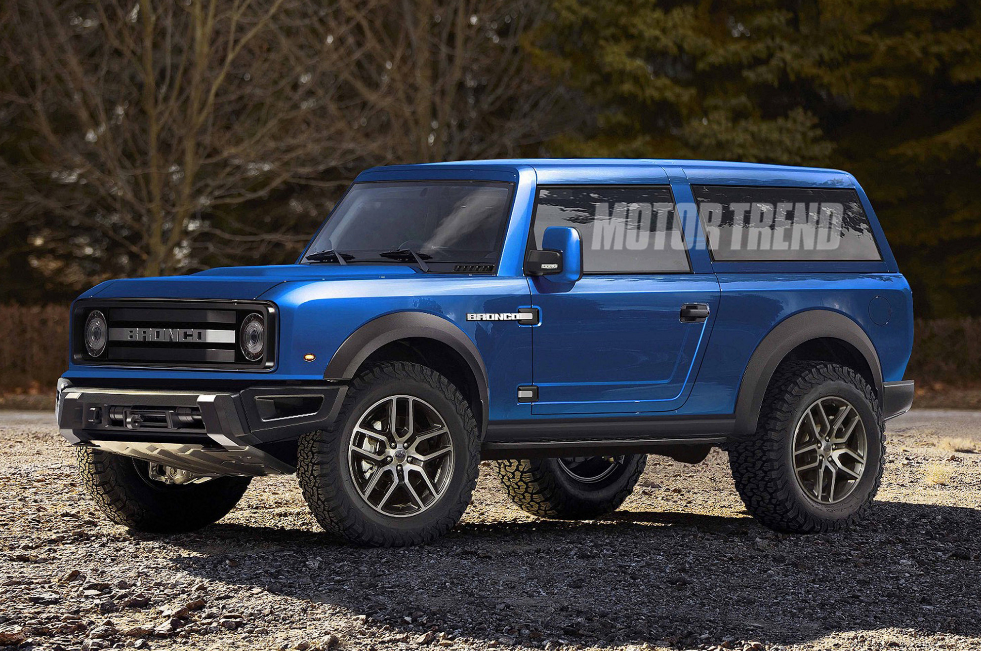 12 Ford Bronco Will Reportedly Get a Removable Top and Doors - 2020 ford bronco 4 door