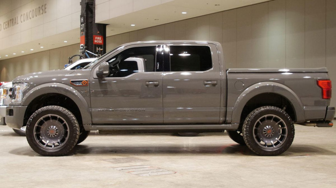12 Ford F-12 gets Harley-Davidson treatment at the Chicago Auto ..