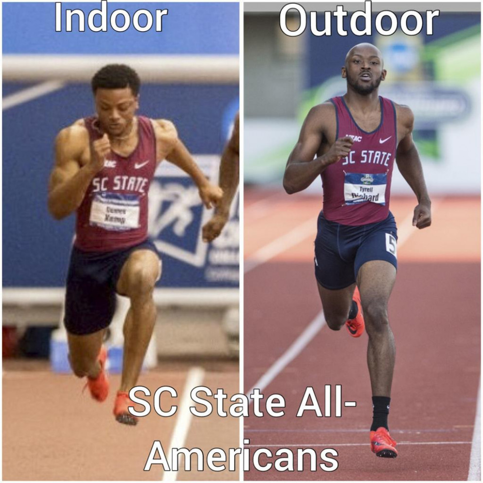 12 former SC State sprinters in the 120120 Toyota USATF Indoor ...