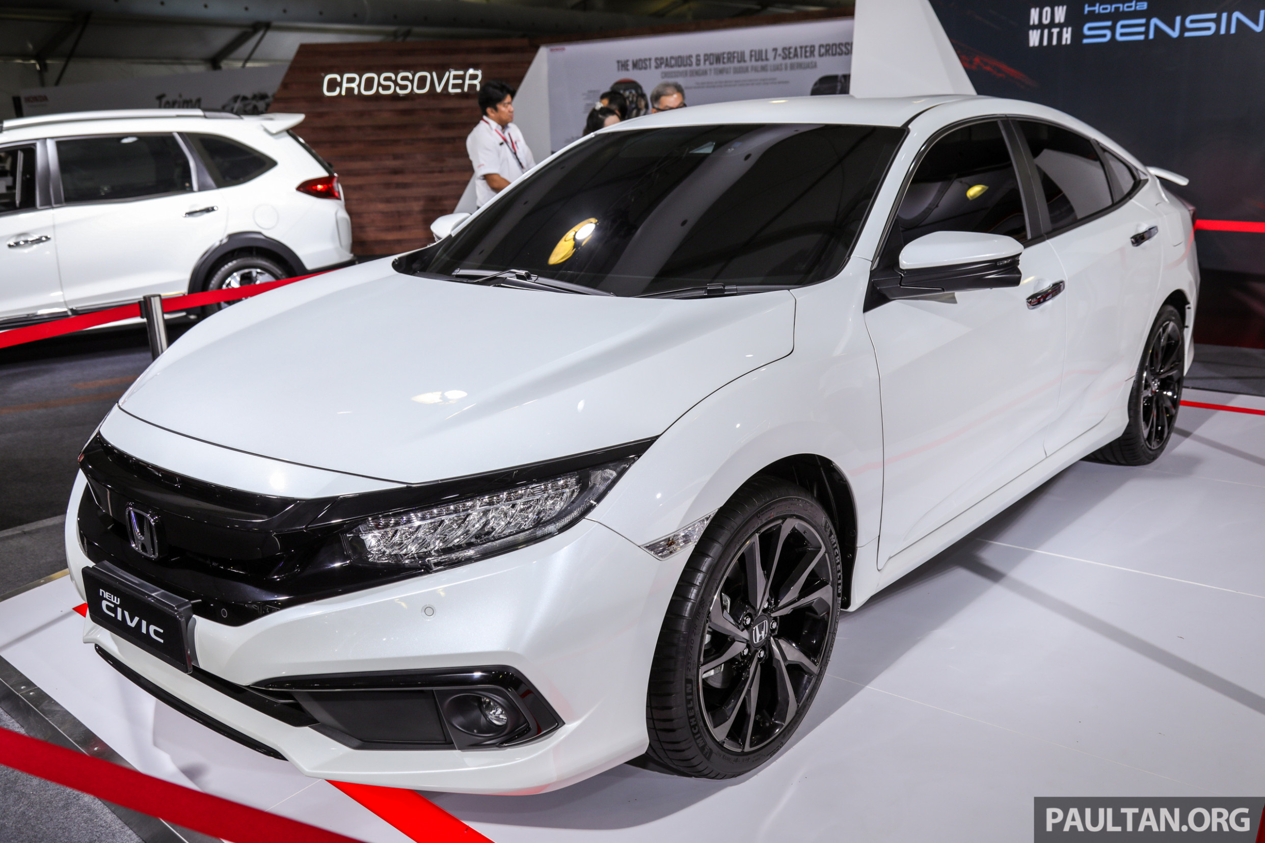 12 Honda Civic facelift launching in Malaysia this Wednesday ...