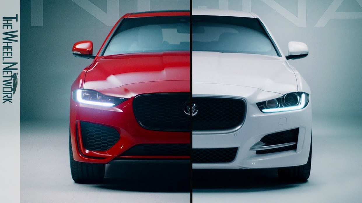 12 Jaguar XE – New vs. Old