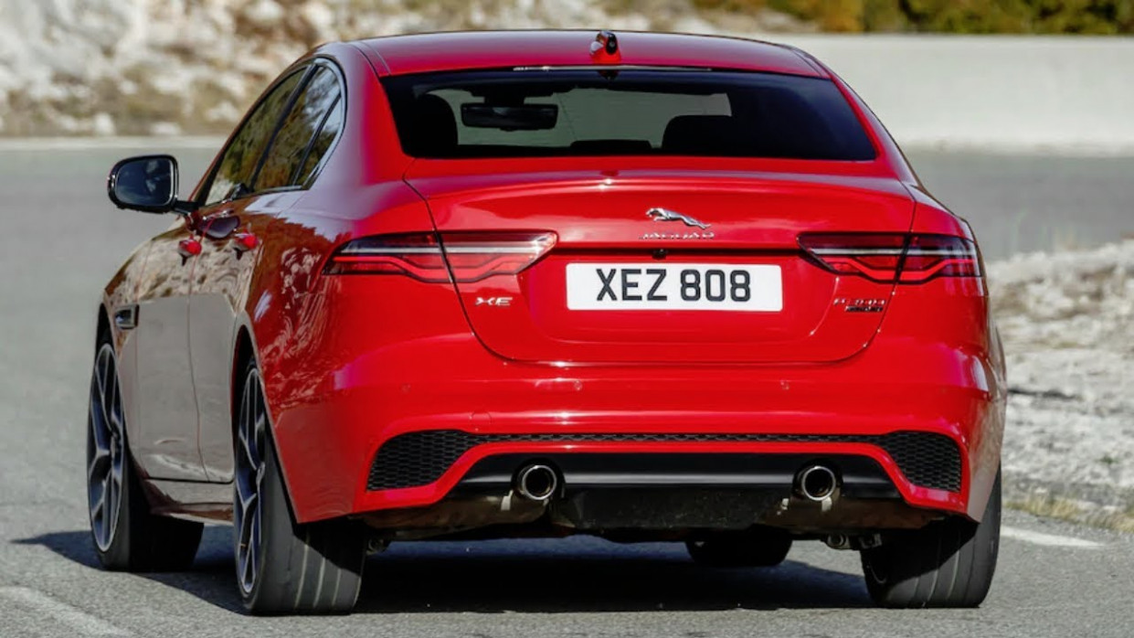 12 Jaguar XE P12 Sedan Unveiled