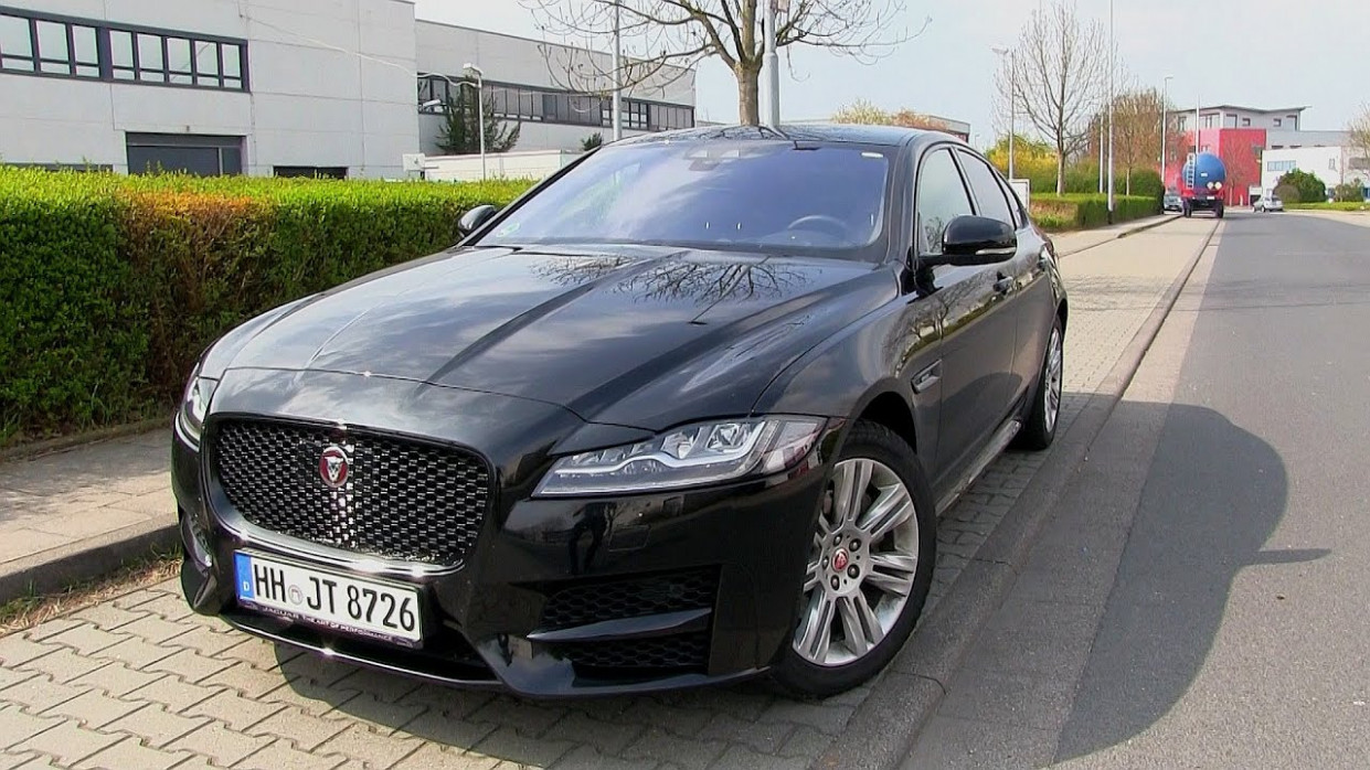 12 Jaguar XF 12t (120 HP) TEST DRIVE