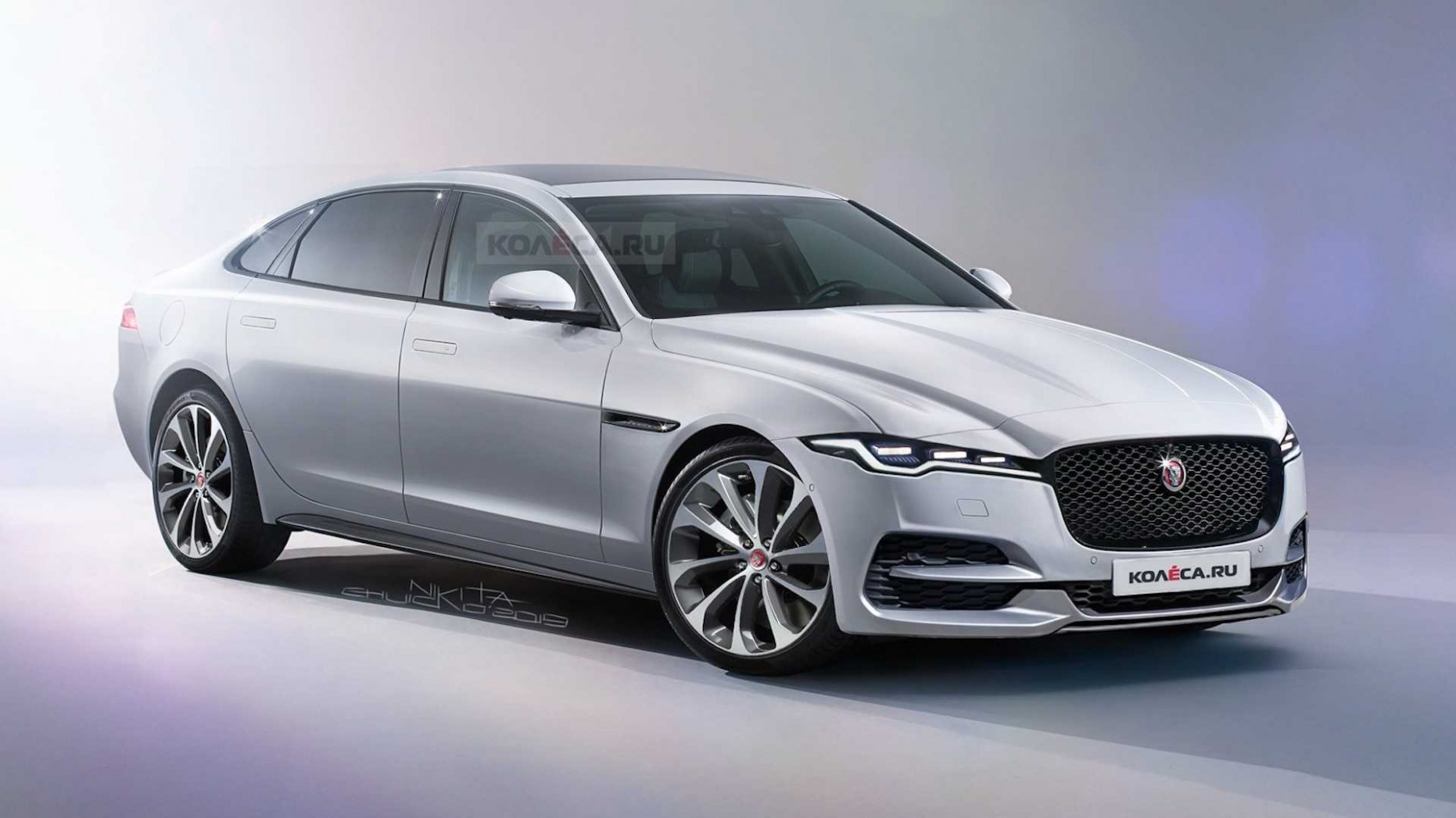 12 Jaguar XJ Rendered With Fierce Fascia But We Expect More